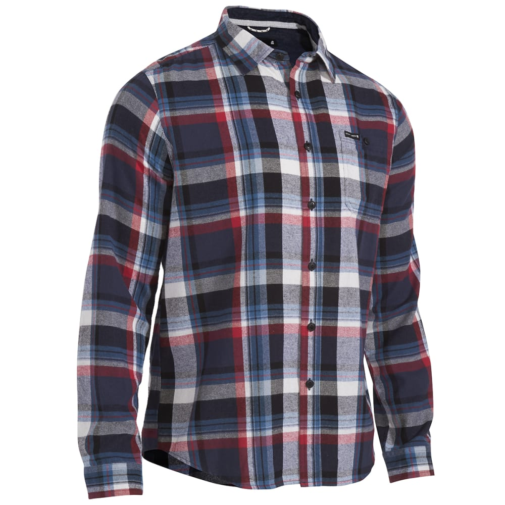 OCEAN CURRENT Guys' Roots Flannel Shirt - MOROCCAN