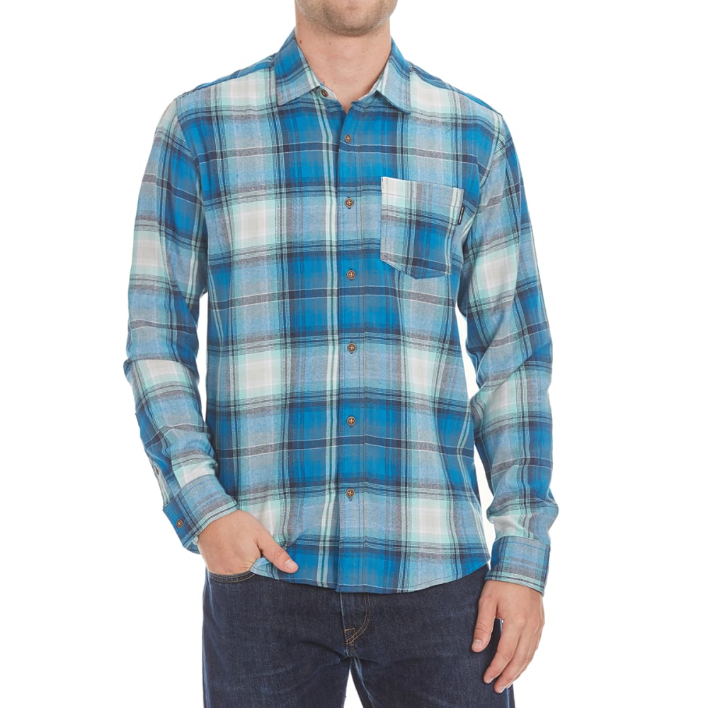 OCEAN CURRENT Guys' Roam Flannel Shirt - MINT