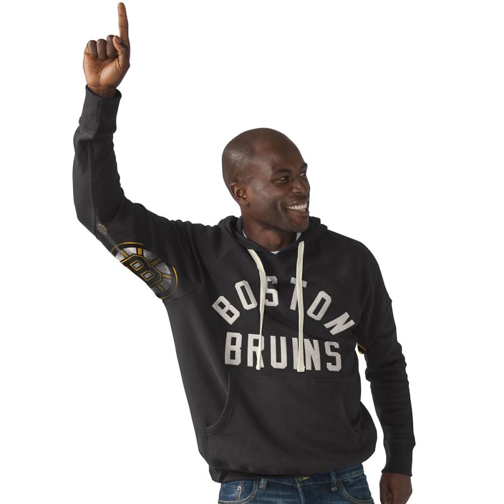 BOSTON BRUINS Boys' Hands High Pullover Hoodie - BLACK