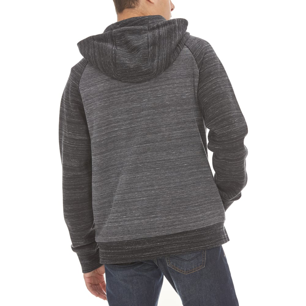 OCEAN CURRENT Guys' Dylan Zip-Up Hoodie - BLACK