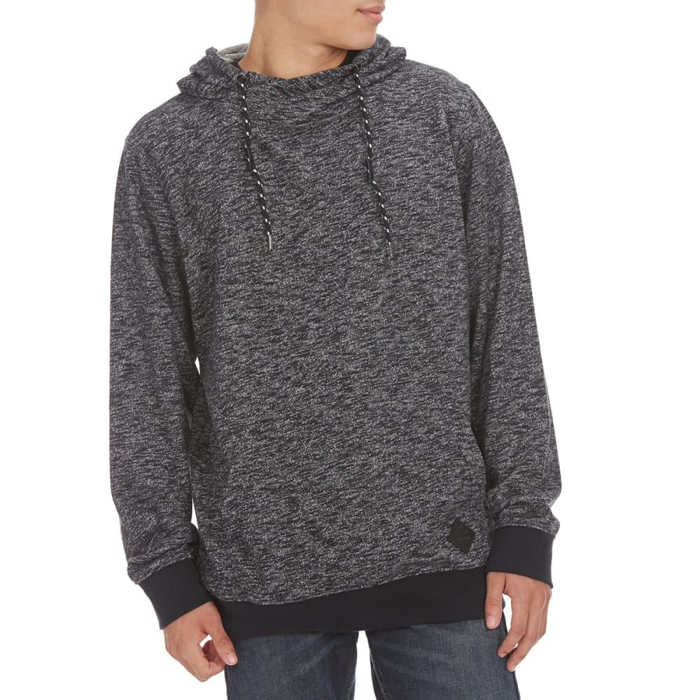 OCEAN CURRENT Guys' Wiggins Streaky Pullover - BLACK
