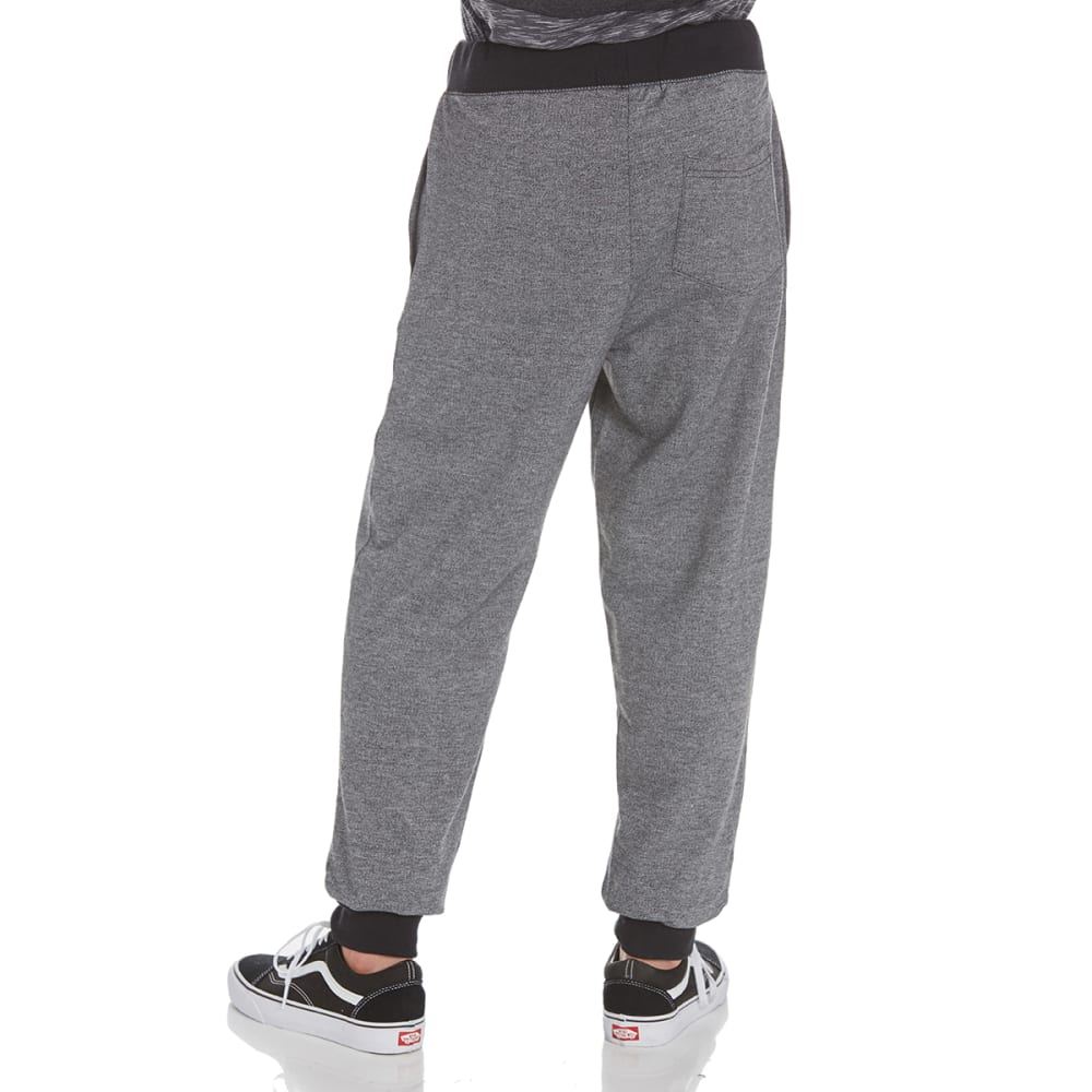 OCEAN CURRENT Guys' Display Knit Jogger Pants - BLACK