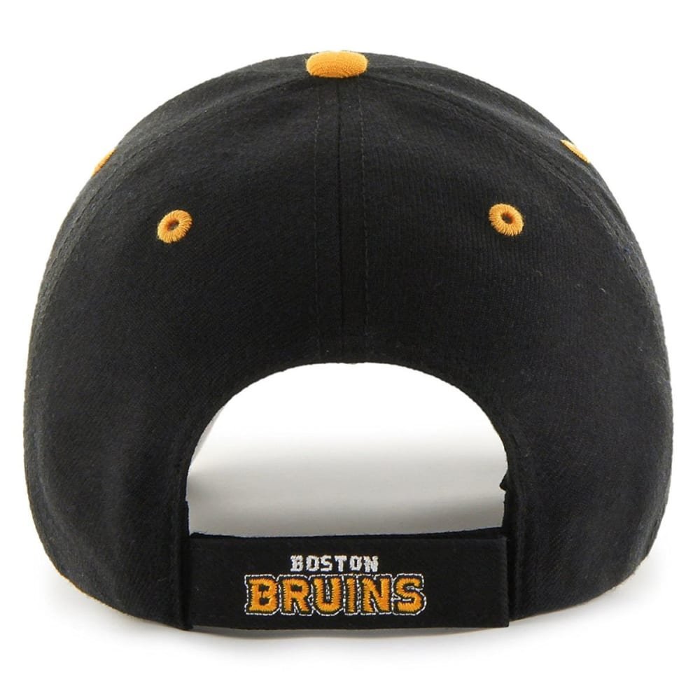 BOSTON BRUINS Men's Audible '47 MVP Adjustable Cap - CHARCOAL