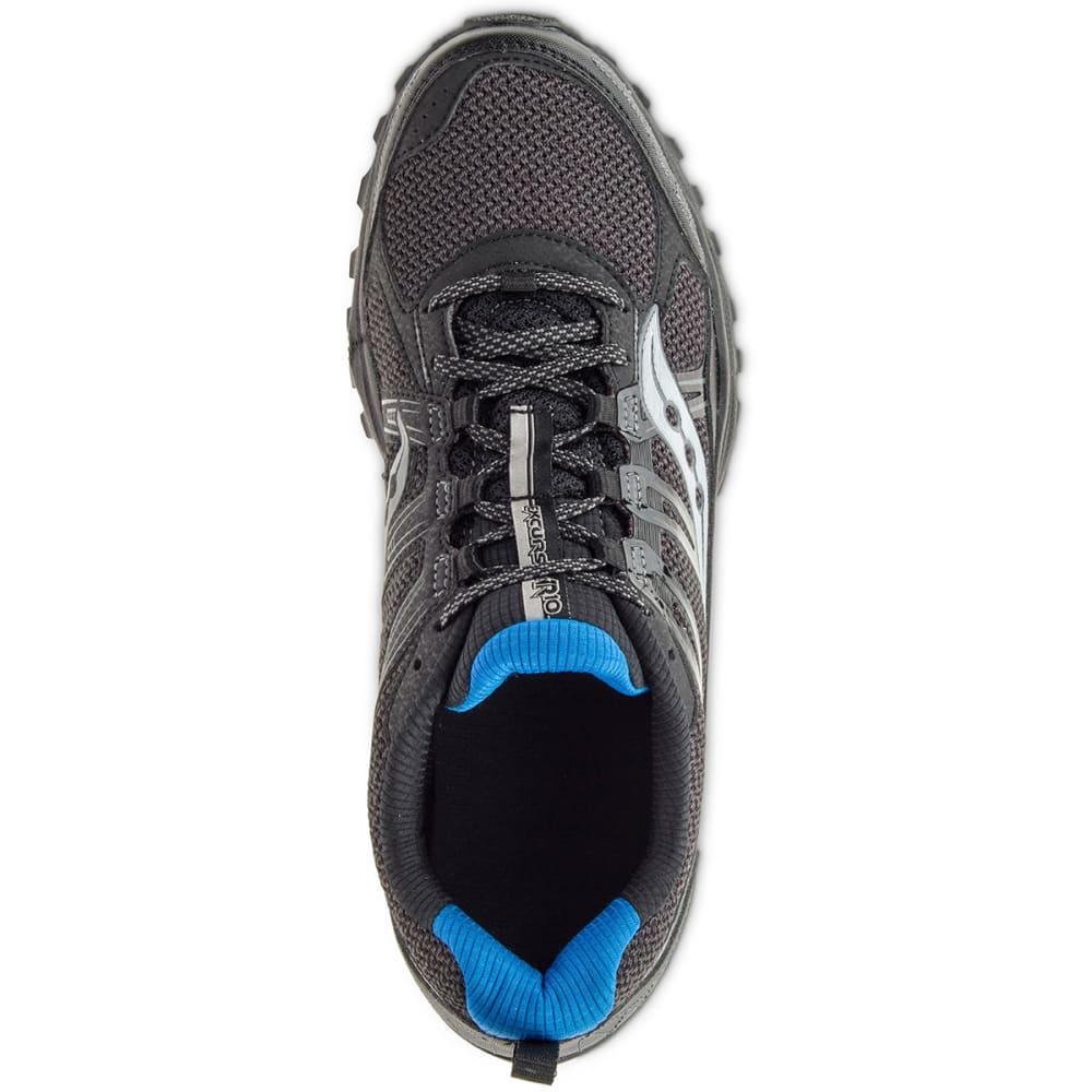 SAUCONY Men's Excursion TR10 Trail Running Shoes, Black/Royal - BLACK