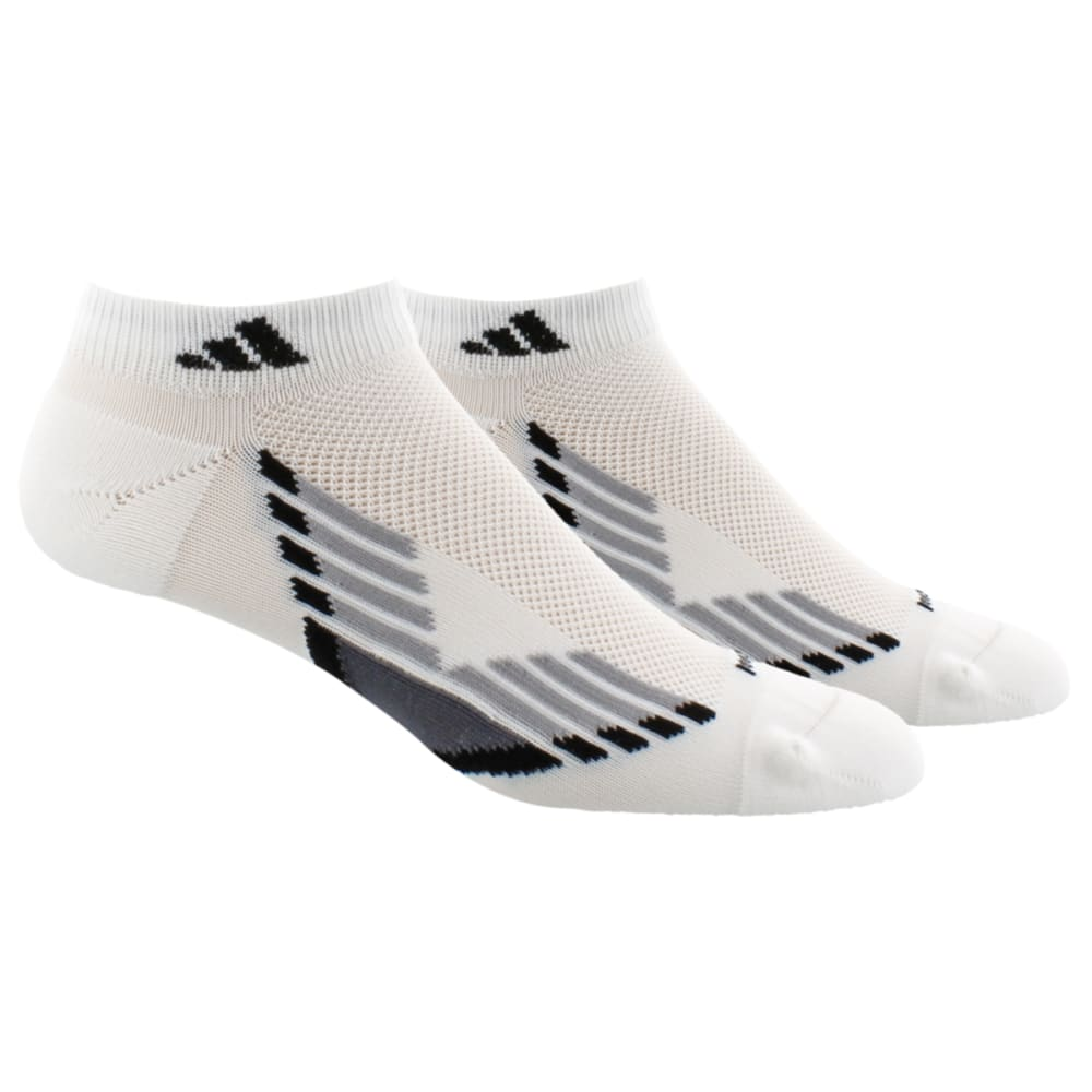 ADIDAS Men's Climacool X Low Cut Socks, 2-Pack - WHITE/ONIX