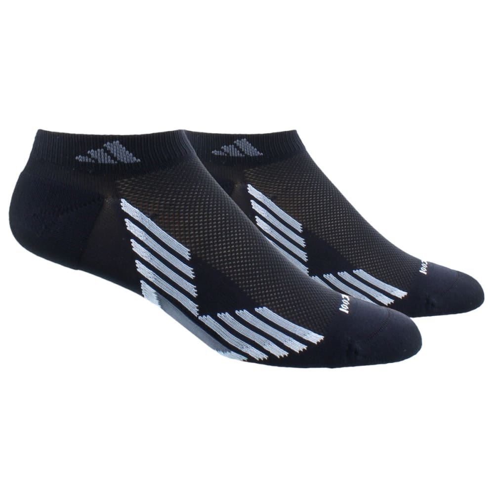ADIDAS Men's Climacool X Low Cut Socks – 2 Pack - BLACK/GREY/CLEAR ONI