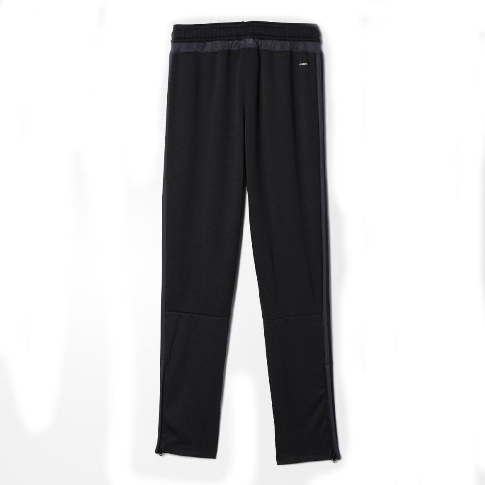 ADIDAS Boys' Tiro 15 Soccer Training Pants - BLK/DRK GRY AC2965