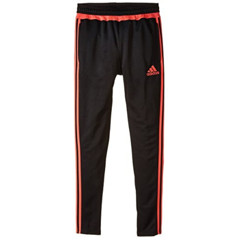 ADIDAS Girls' Tiro 15 Training Pants - BLK/FLASH RED AC2969