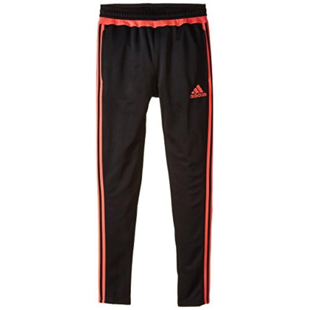 ADIDAS Girls' Tiro 15 Training Pants - BLK/FLASH RED AC2969