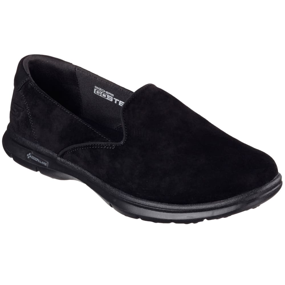 SKECHERS Women's Go Step Walking Shoes - BLACK