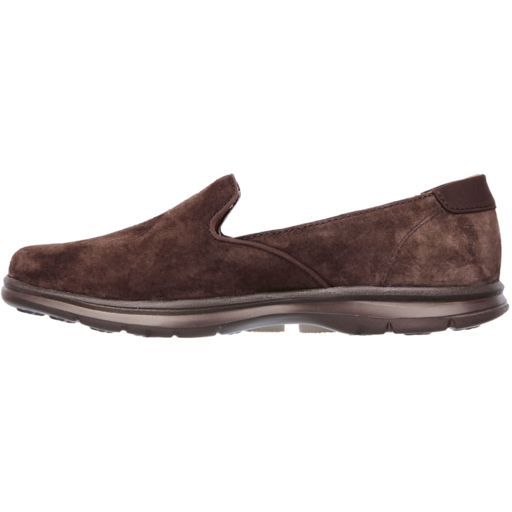 SKECHERS Women's Go Step Slip On Shoes - CHOCOLATE