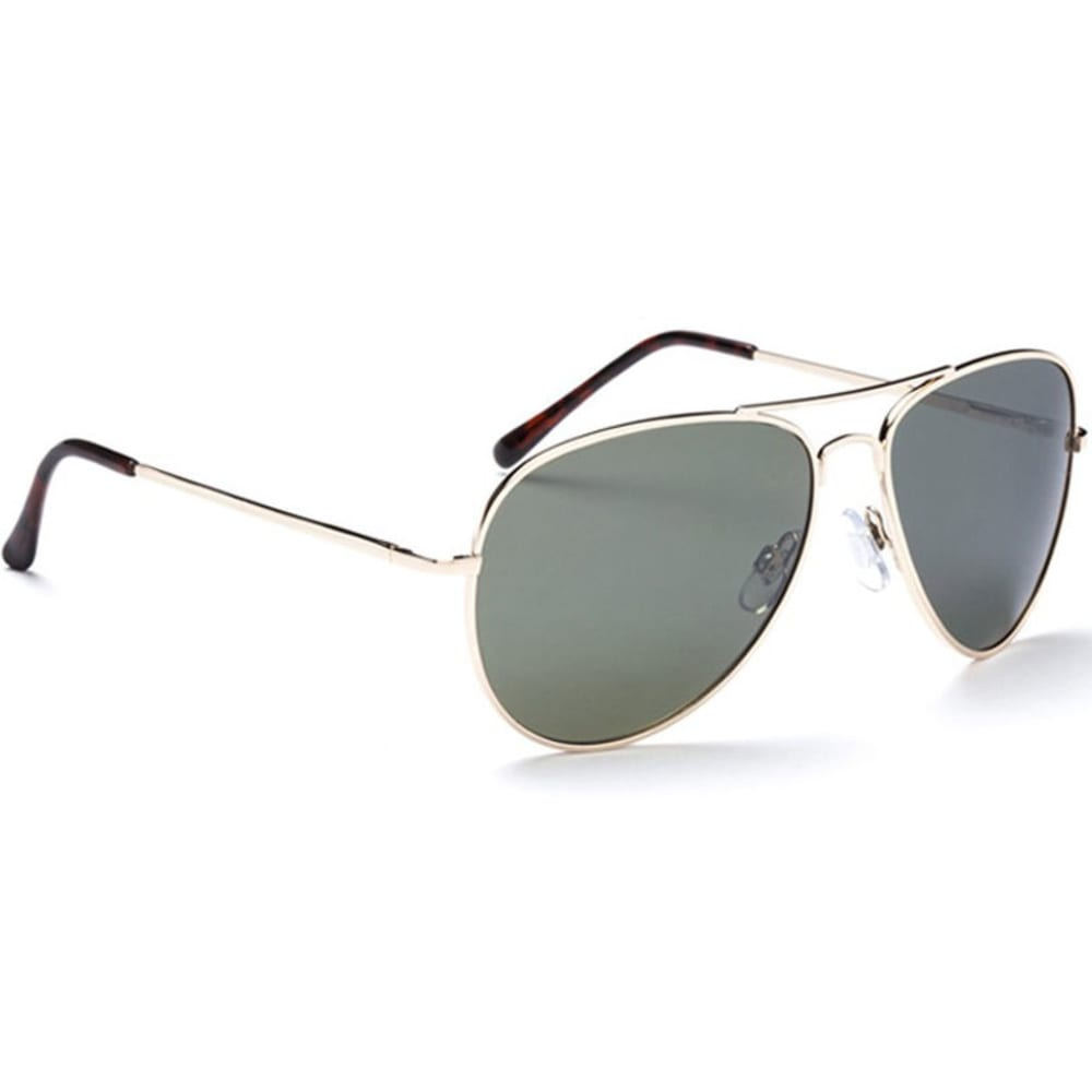 ONE BY OPTIC NERVE Men's Estrada Aviator Sunglasses - GOLD