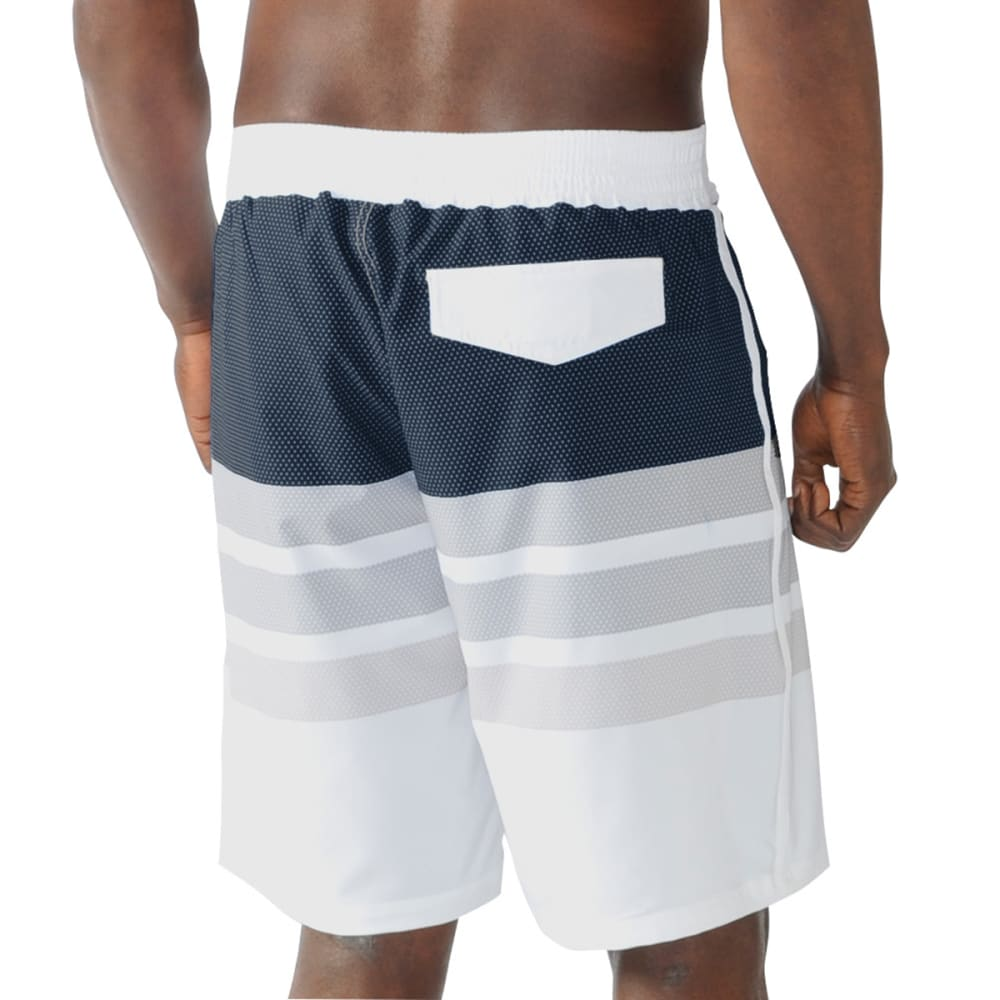 BOSTON RED SOX Men's Center Field Swim Trunks - NAVY