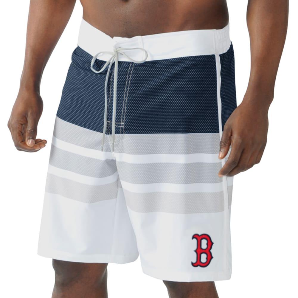 BOSTON RED SOX Men's Center Field Swim Trunks - NAVY