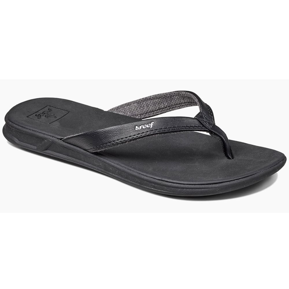 REEF Women's Rover Catch Sandals, Black - BLACK