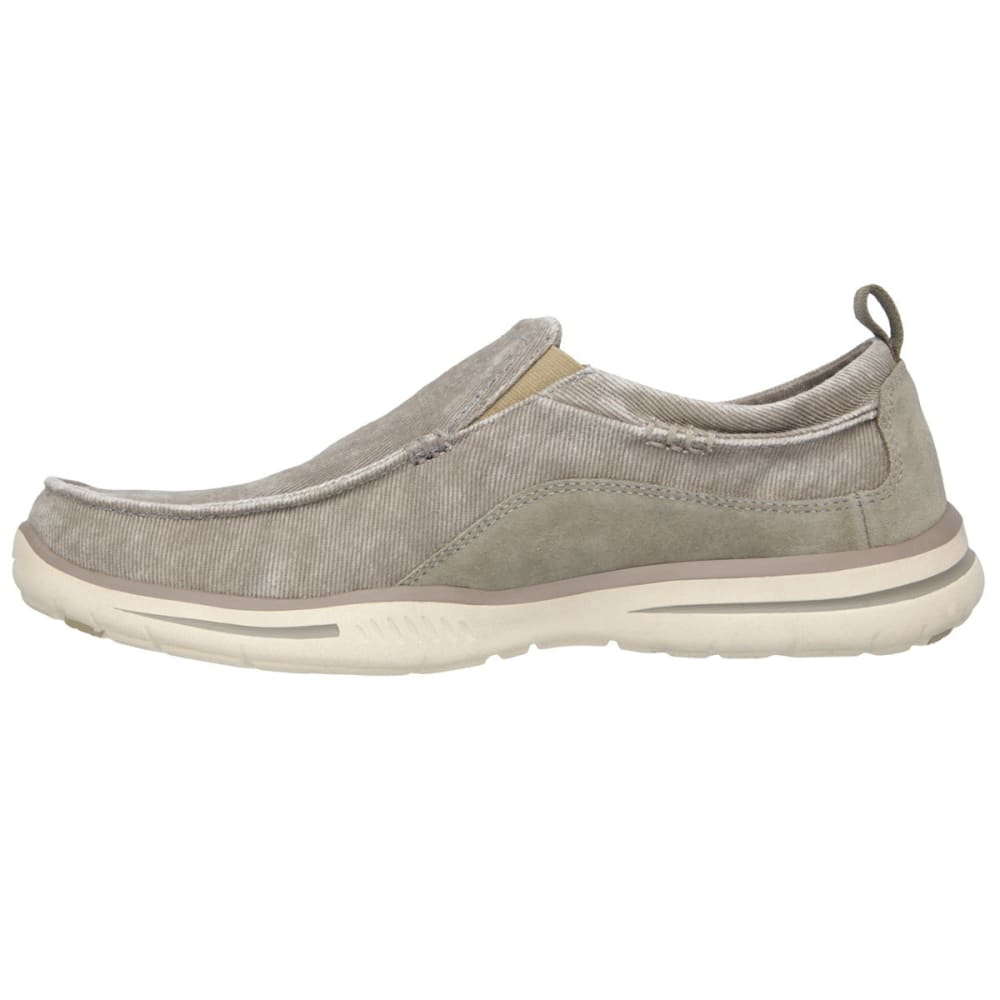 SKECHERS Men's Relaxed Fit: Elected - Drigo Shoes - TAUPE