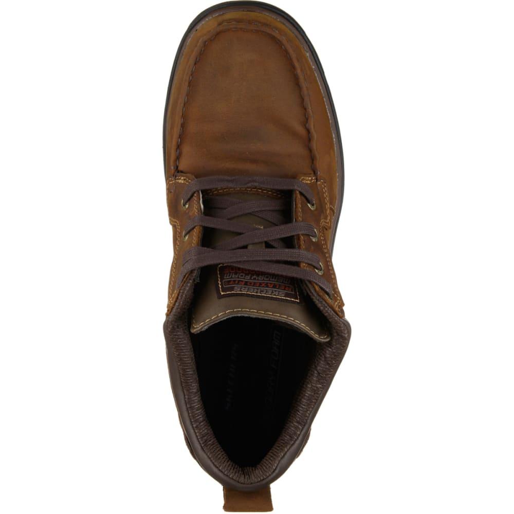 SKECHERS Men's Melego Shoes - DARK BROWN