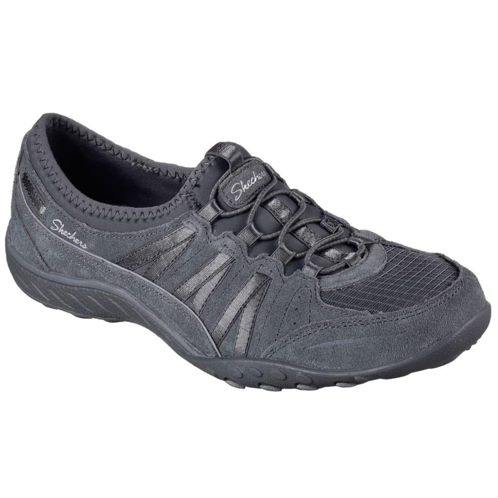 SKECHERS Women's RF Breathe Easy Moneybags Sneakers - CHARCOAL