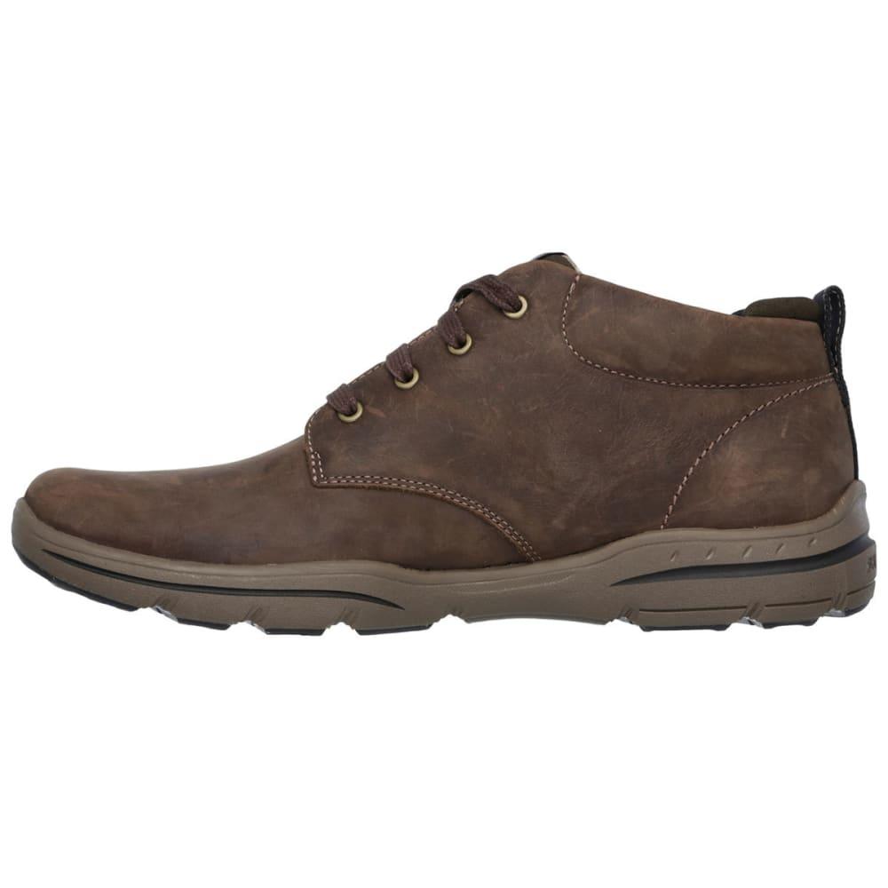 SKECHERS Men's Harper- Melden Shoes - CHOCOLATE