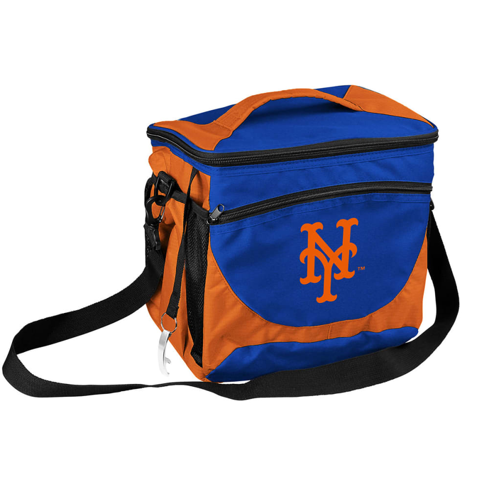 NEW YORK METS 24 Can Cooler - ROYAL BLUE