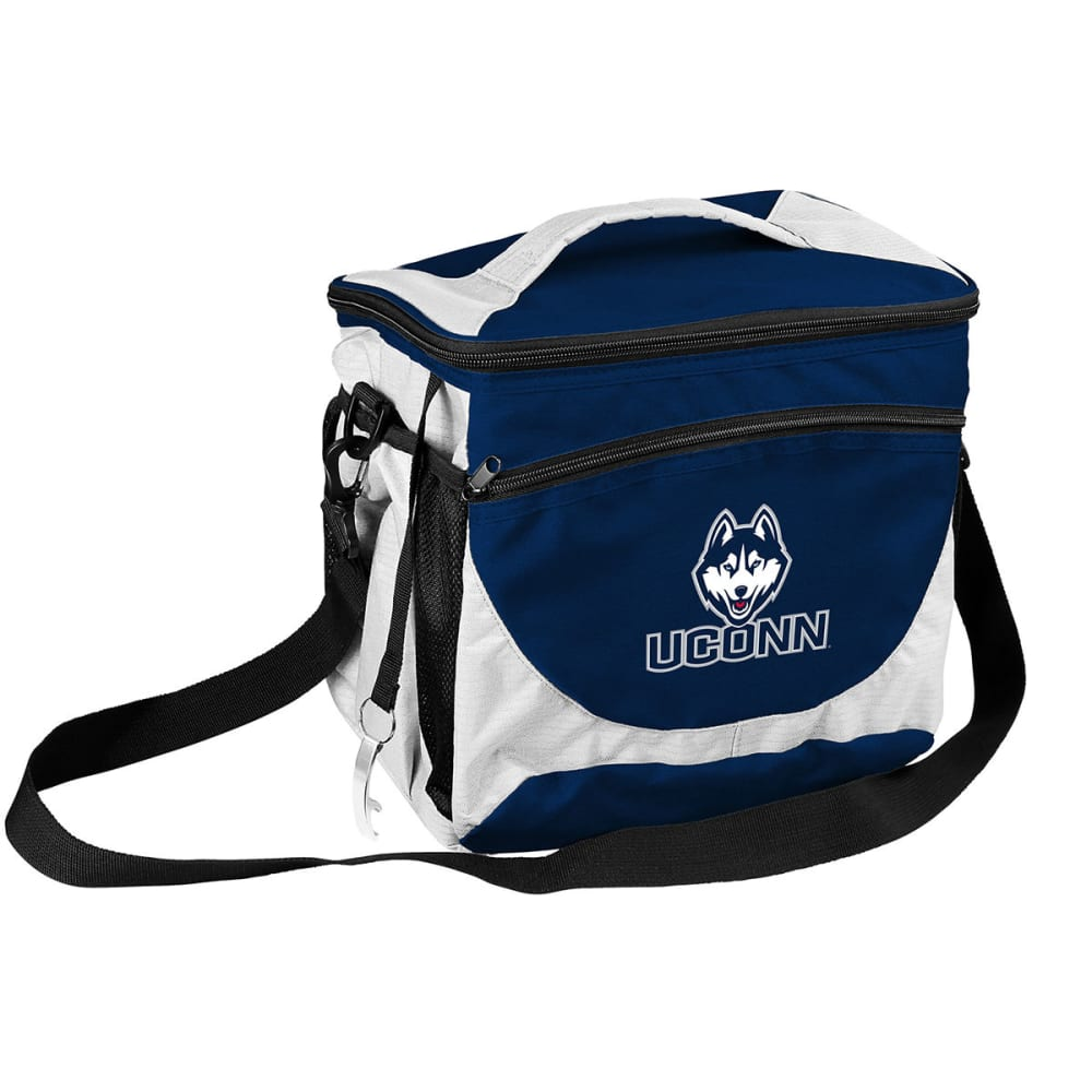 UCONN HUSKIES 24 Can Cooler - NAVY