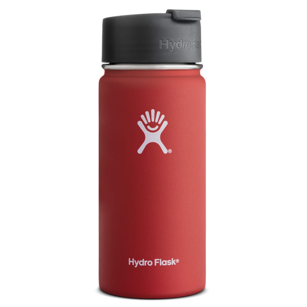 HYDRO FLASK 16 oz. Hydro™ Flip Lid Wide Mouth Bottle - LAVA