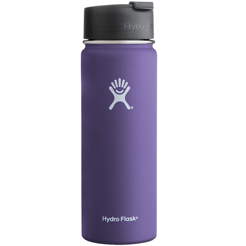 HYDRO FLASK Wide Mouth Flip Lid 20 OZ. Bottle - PLUM