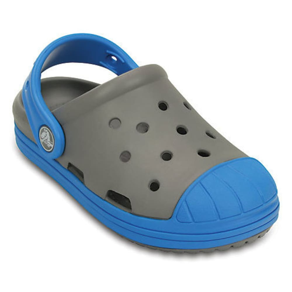 CROCS Kids' Bump It Clogs - GREY