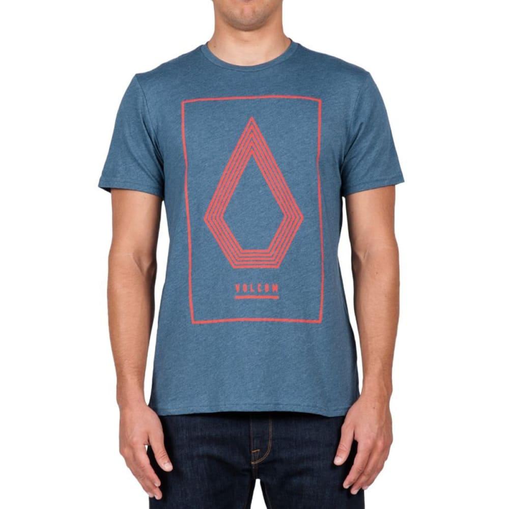 VOLCOM Guys' Line Art Short-Sleeve Tee - AIRFORCE BLUE-AFB
