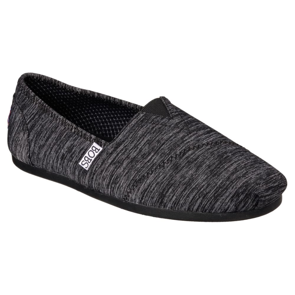 SKECHERS Women's Bobs Plush - Express Yourself Shoes - BLACK