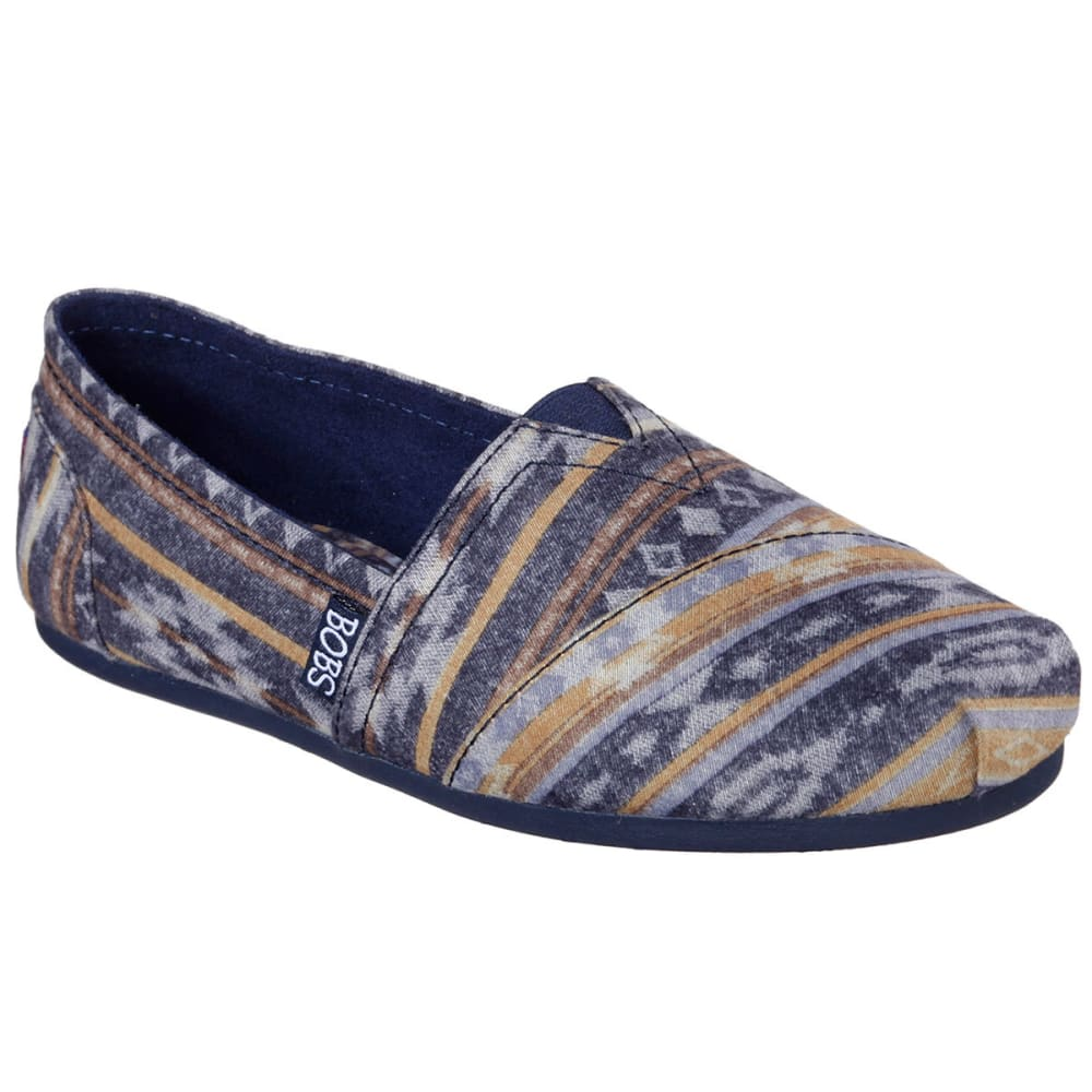 SKECHERS Women's Bobs Plush – Wonder Shoes - NAVY