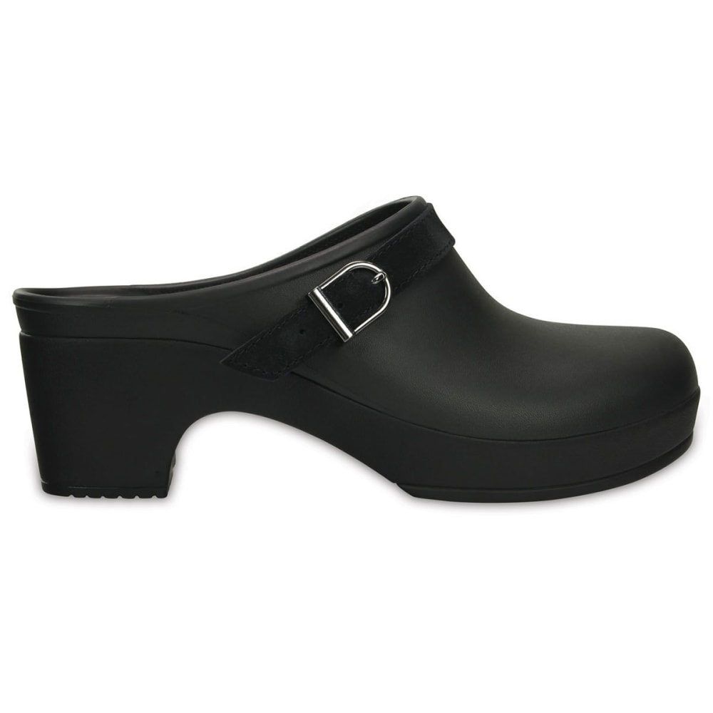 CROCS Women's Sarah Clogs - BLACK