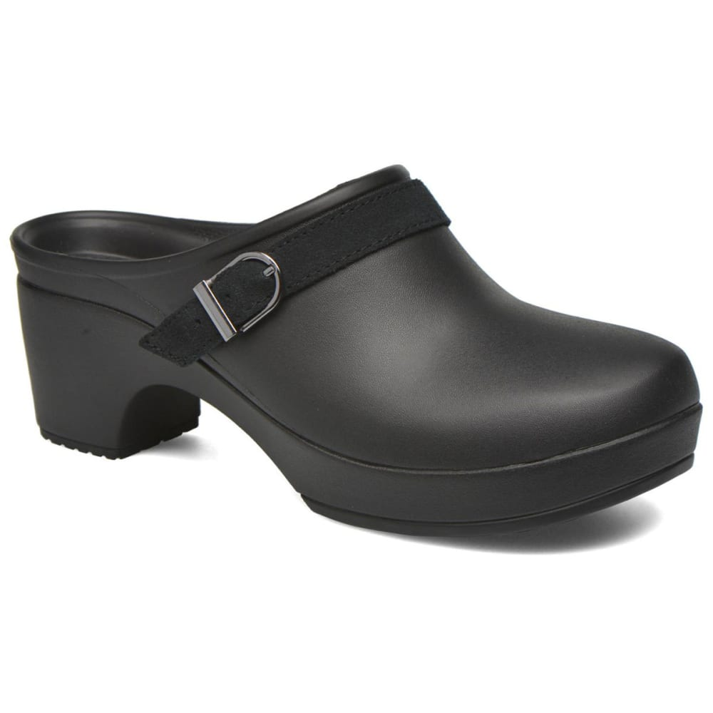 Crocs Women's Sarah Clogs - Black, 6