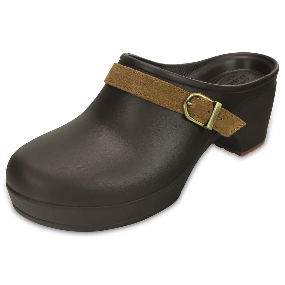 Crocs Women's Sarah Clogs - Brown, 6