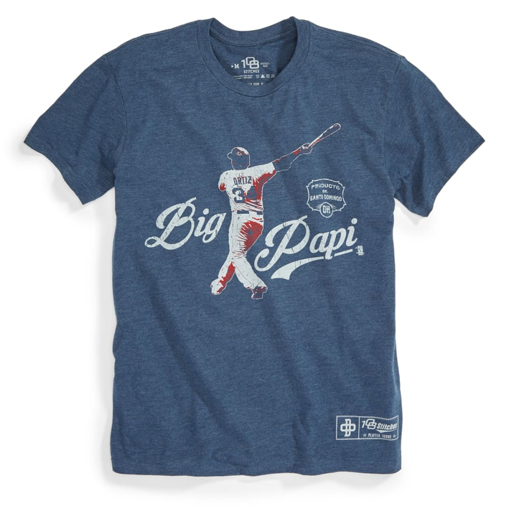 BOSTON RED SOX Men's Ortiz Swing Tee - NAVY