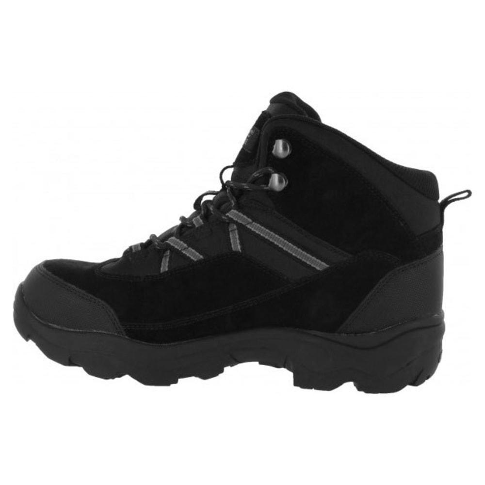 HI-TEC Men's Bandera Pro Mid Waterproof Steel Toe Boots - BLACK