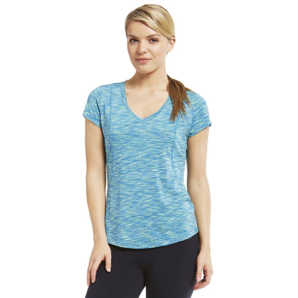 MARIKA Women's Crunch Space-Dye Tee - ATOMIC BLUE-618
