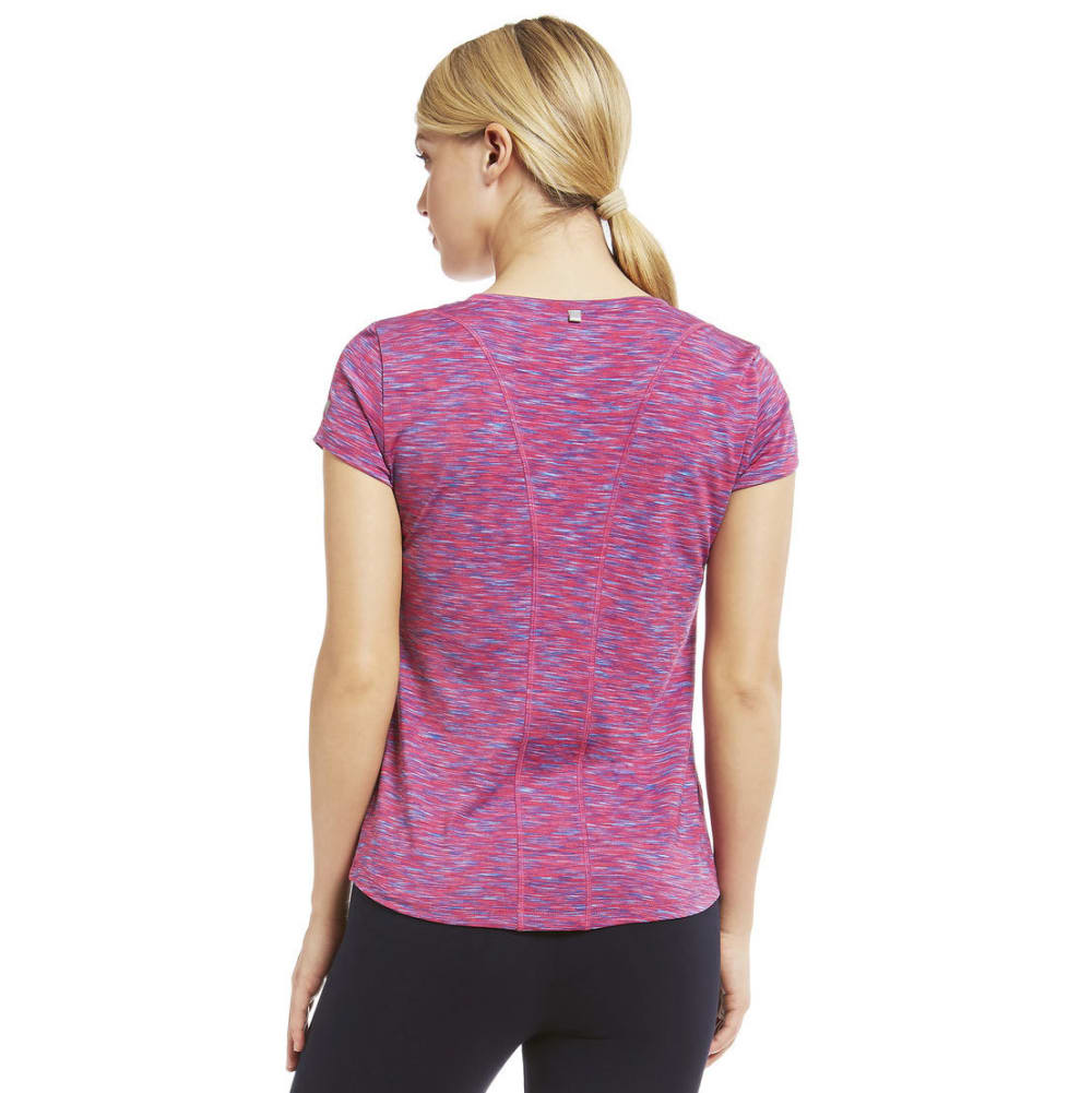 MARIKA Women's Crunch Space-Dye Tee - BEETROOT PRPLE-138