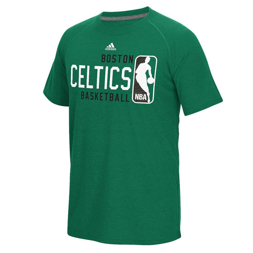 BOSTON CELTICS Men's Play It Forward Tee - GREEN