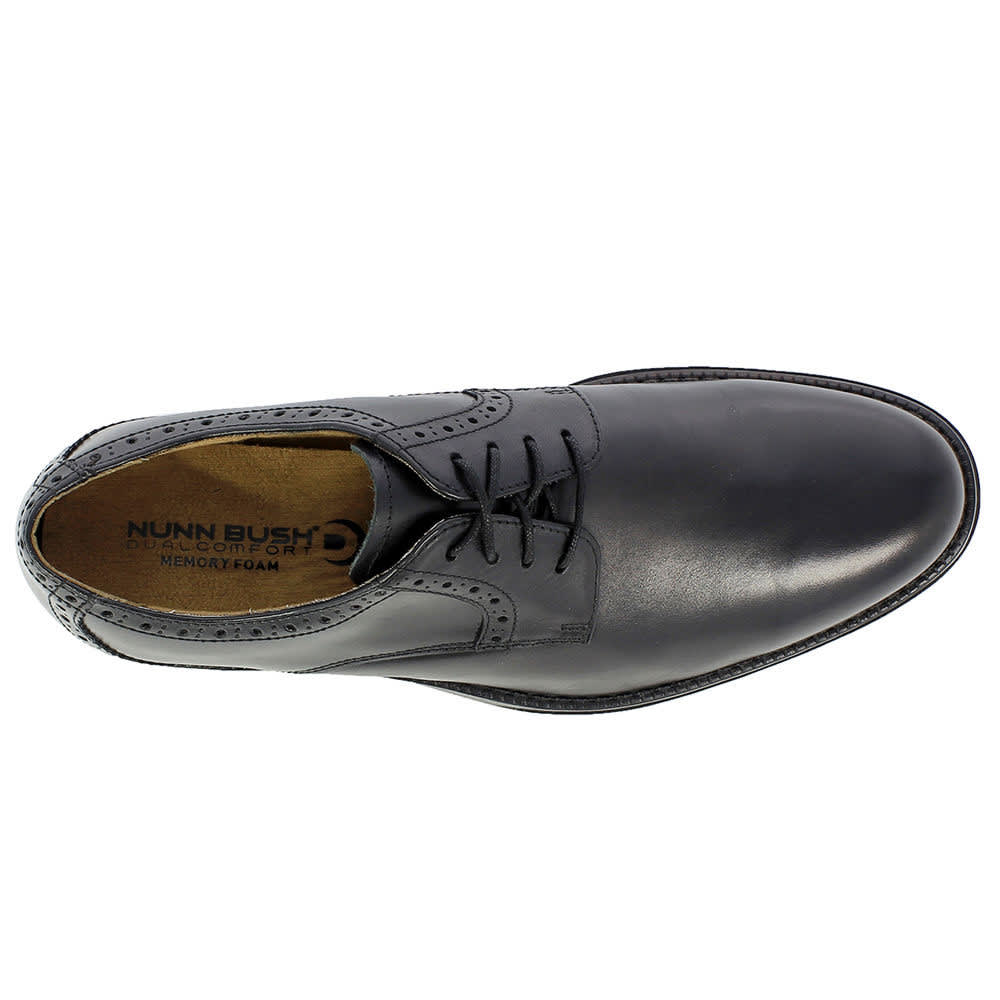 NUNN BUSH Men's Riggs Oxford Shoes - BLACK