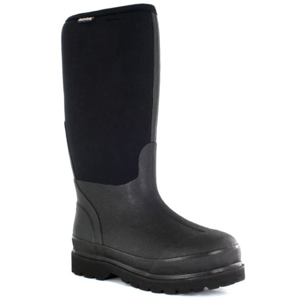 BOGS Men's Rancher Insulated Work Boots - BLACK