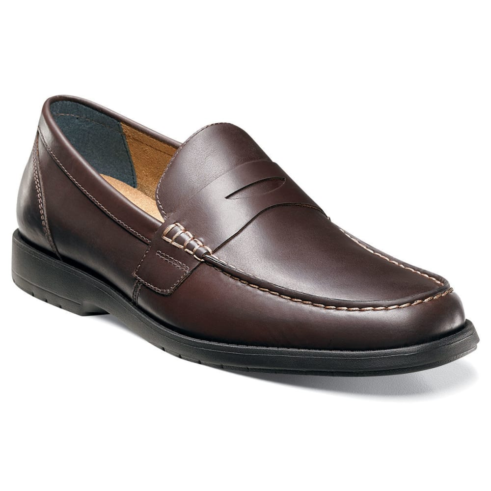 NUNN BUSH Men's Appleton Penny Loafers - BROWN