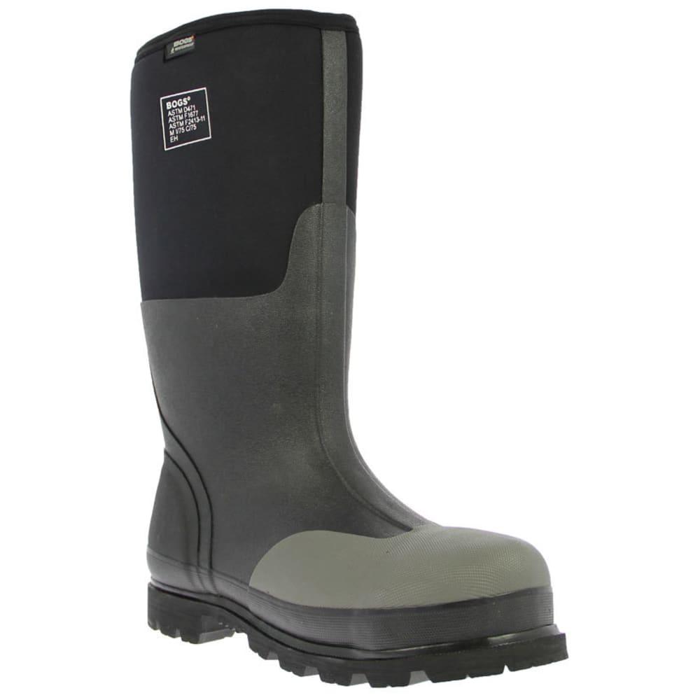 BOGS Men's Forge Steel Toe Work Boots - BLACK