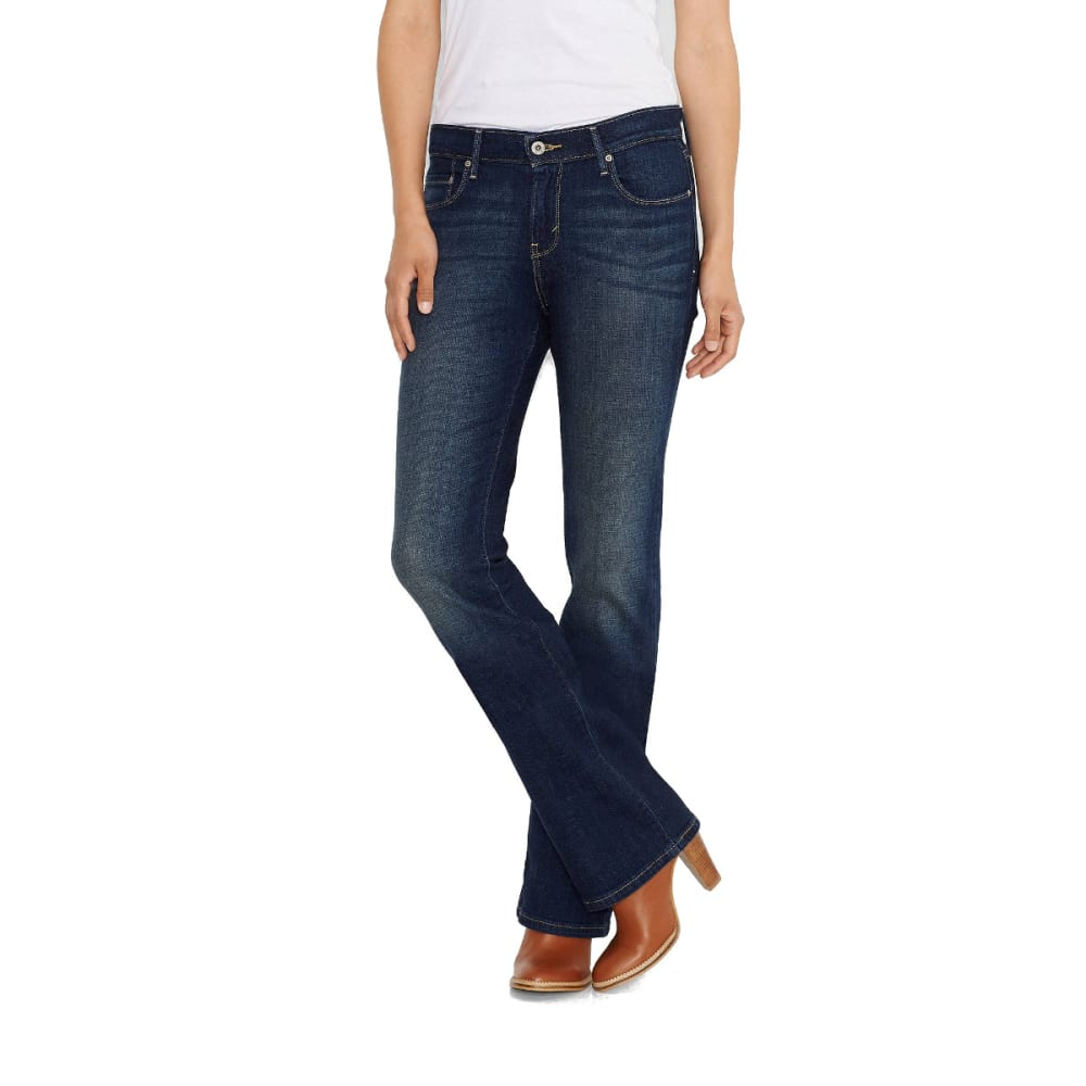 LEVI'S Women's 515 Bootcut Jeans, Short - UNDERCURRENT