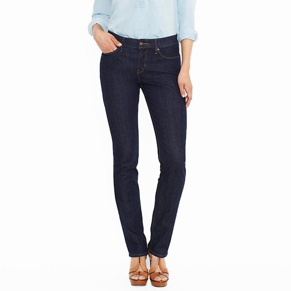 LEVI'S Women's 525 Perfect Waist Straight Jeans, Short Length - 0028-SAPPHIRE