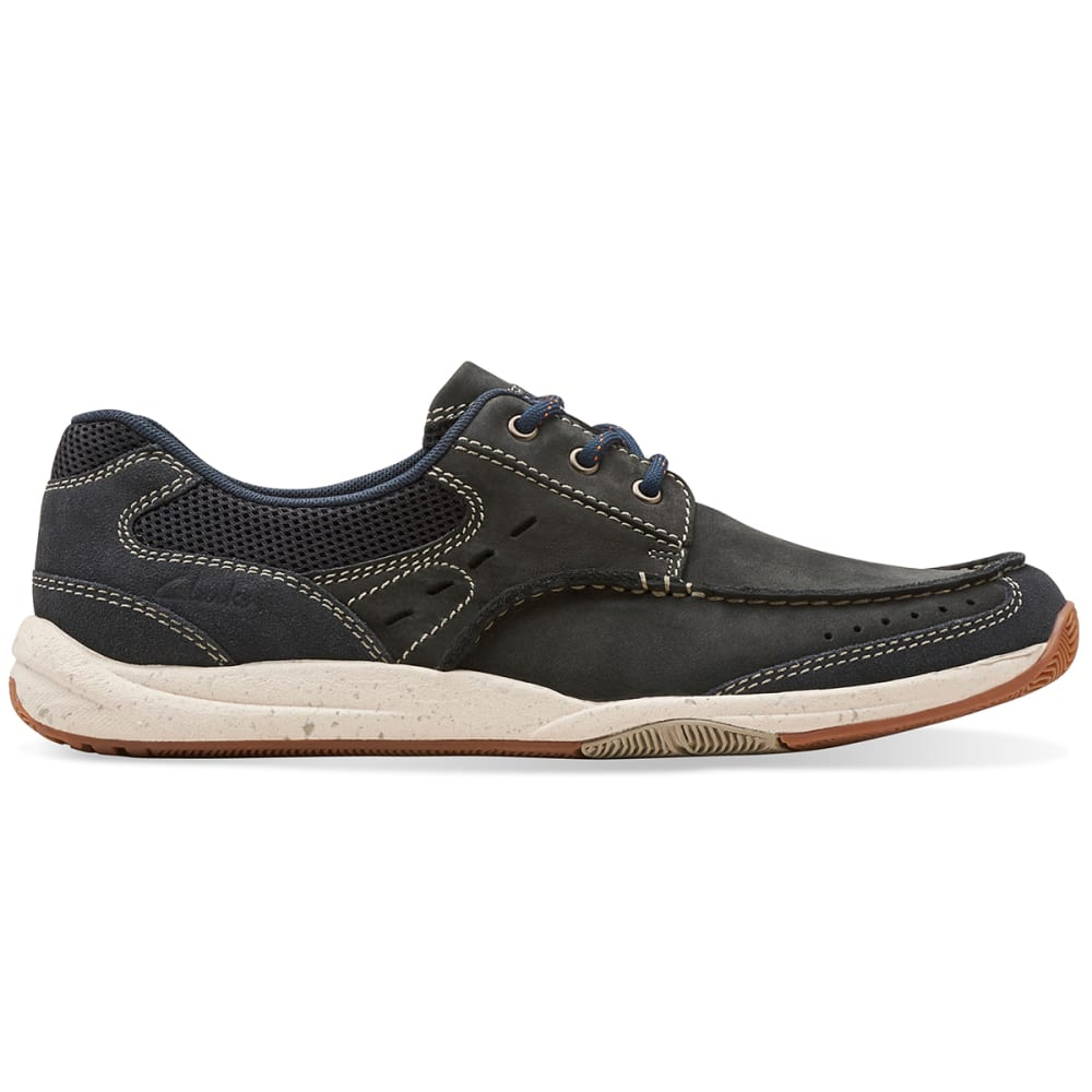 CLARKS Men's Allston Edge Shoes - NAVY