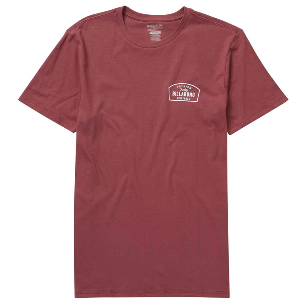 BILLABONG Guys' Originals Tee - BURGUNDY-BUR