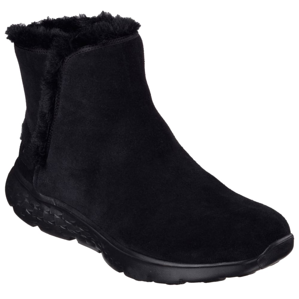 SKECHERS Women's On the Go – Chugga Boots - BLACK