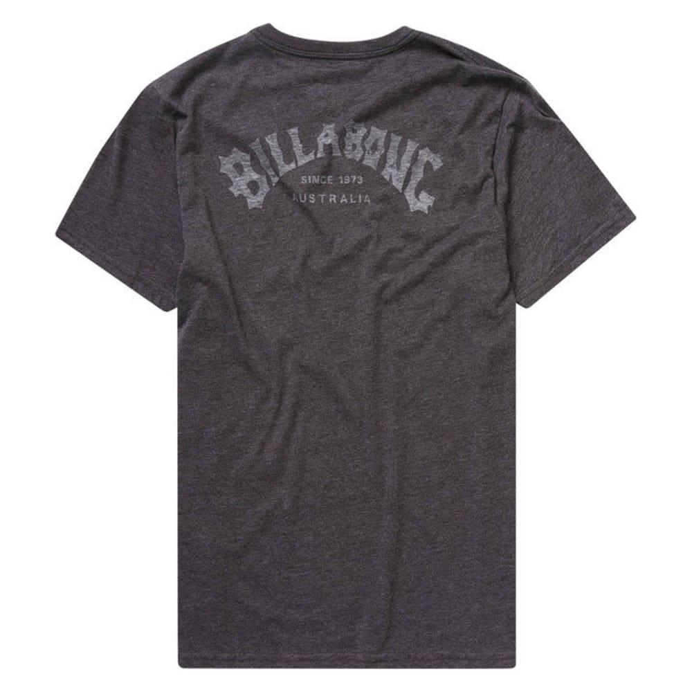 BILLABONG Guys' Arch Tee - BLACK HEATHER-BKH