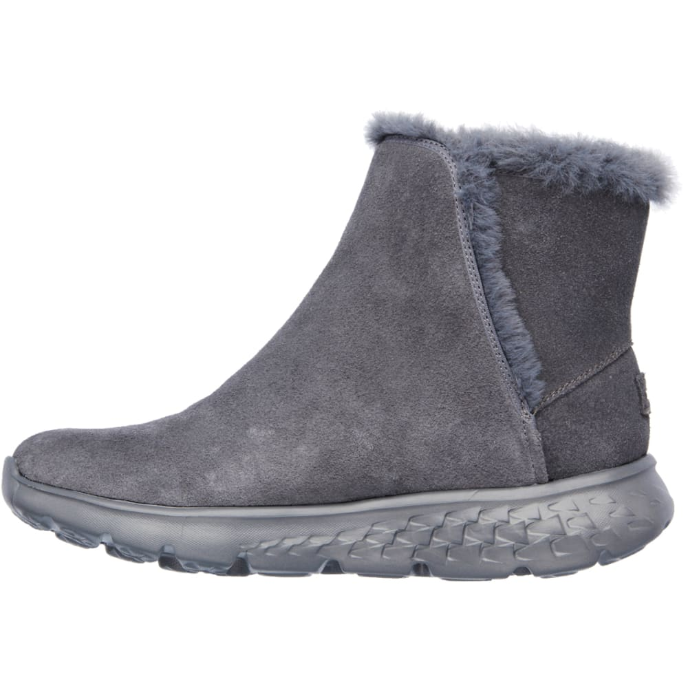 SKECHERS Women's On The Go Chugga Boots - CHARCOAL